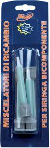 miscelatori per siringa bicomponente