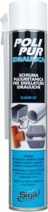 schiuma poliuretanica per idraulica