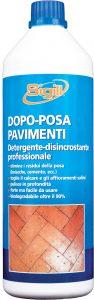 detergente per pavimenti dopo posa