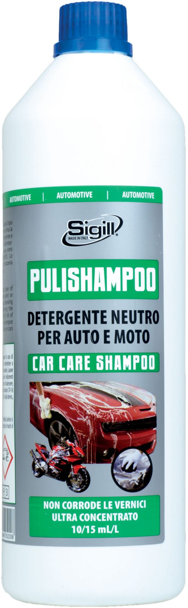 Prodotti per auto, detergente per auto