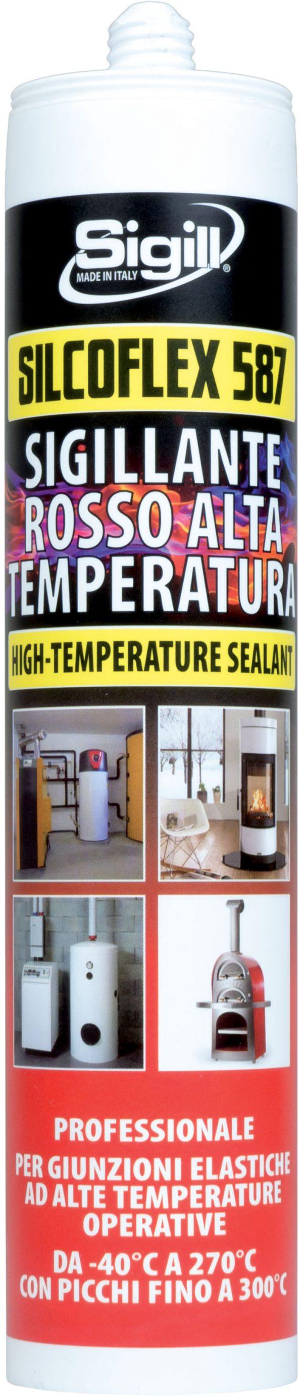 silicone acrilico alte temperature