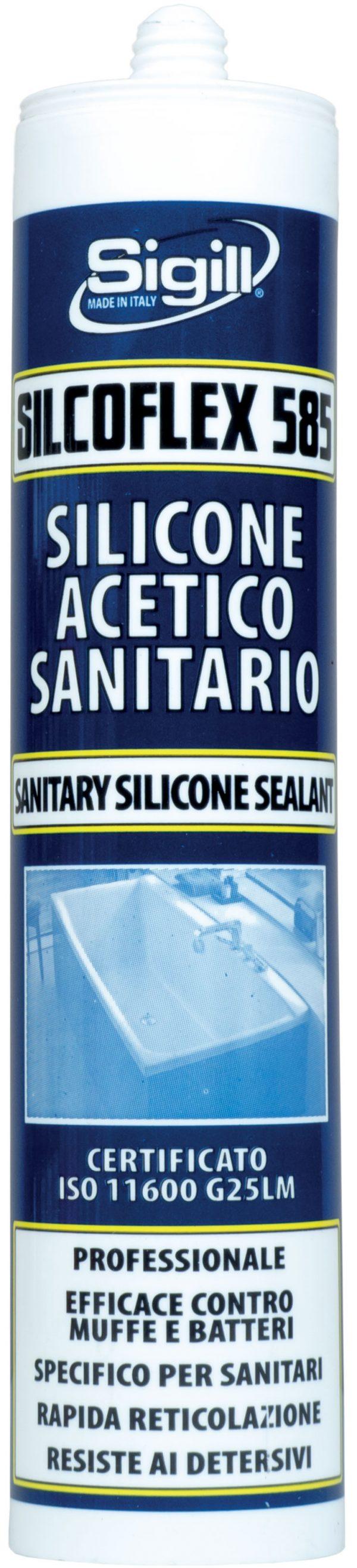 silicone acetico sanitario
