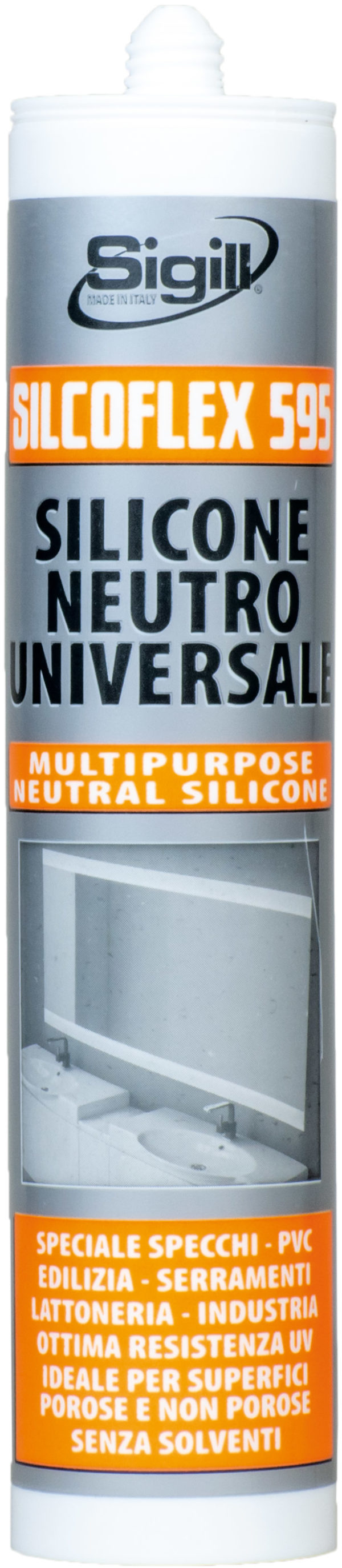 silicone, silicone neutro, silicone universale,