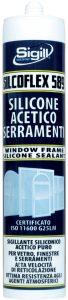 silicone acetico per serramenti