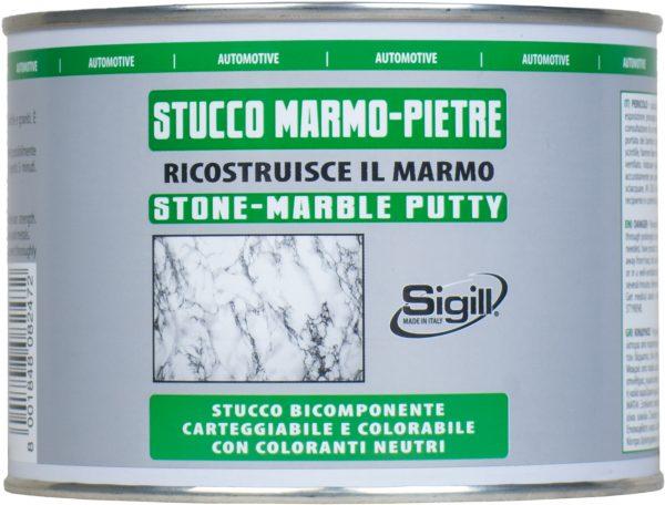stucco bicomponente per marmo