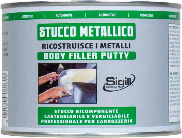 stucco bicomponente per metallo