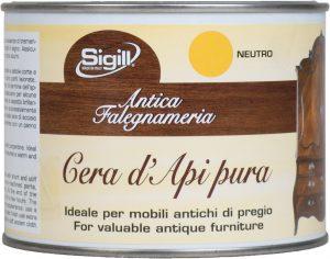prodotti per legno, cera d'api pura per legno